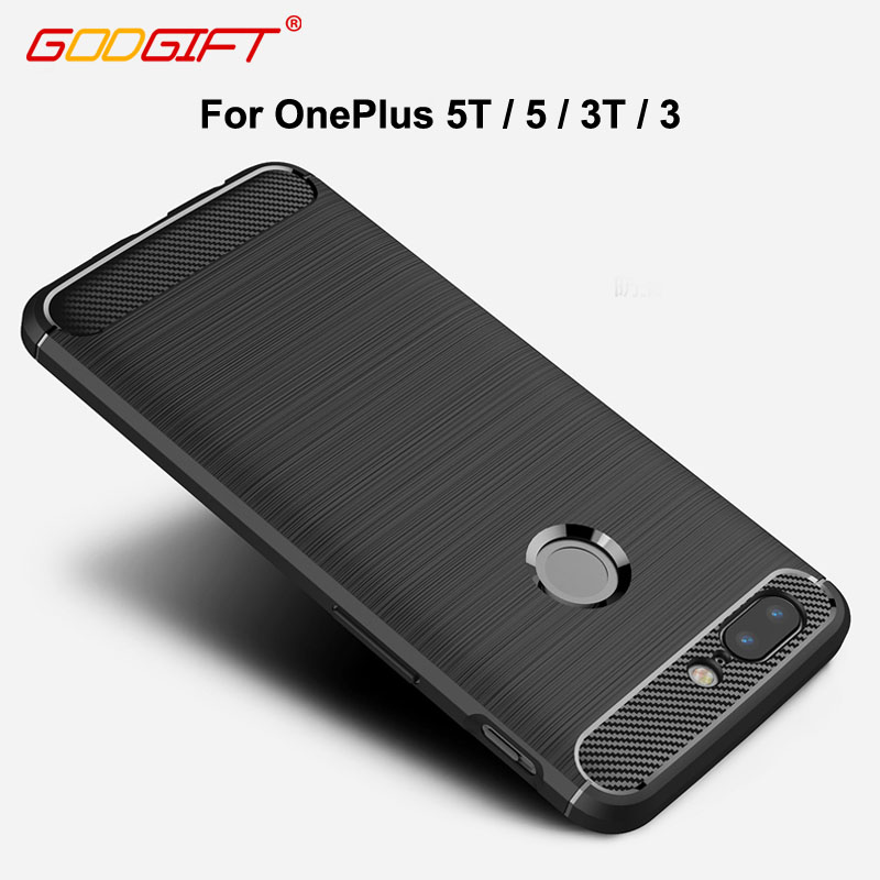 GodGift OnePlus 5T Case Luxury Armor Shockproof One Plus 5 3T Case Silicon Cover For OnePlus 5 T 3 3T Phone Case Cover
