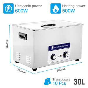 Image 2 - SKYMEN Ultrasonic Cleaner Industrial Metal Parts Medical Lab Instruments PCB Ultrasound Cleaner Bath 2L 30L