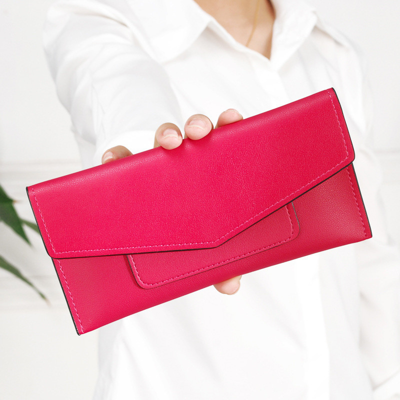 Multicolor PU Leather Women Wallet Long Thin Purses Multiple Cards Holder Clutch Bag Fashion Wallets Female Coin Purse Clutch new arrival fashion women s clutch long wallet girl pu leather portable coin bag purse colorful female cards holder phone wallet