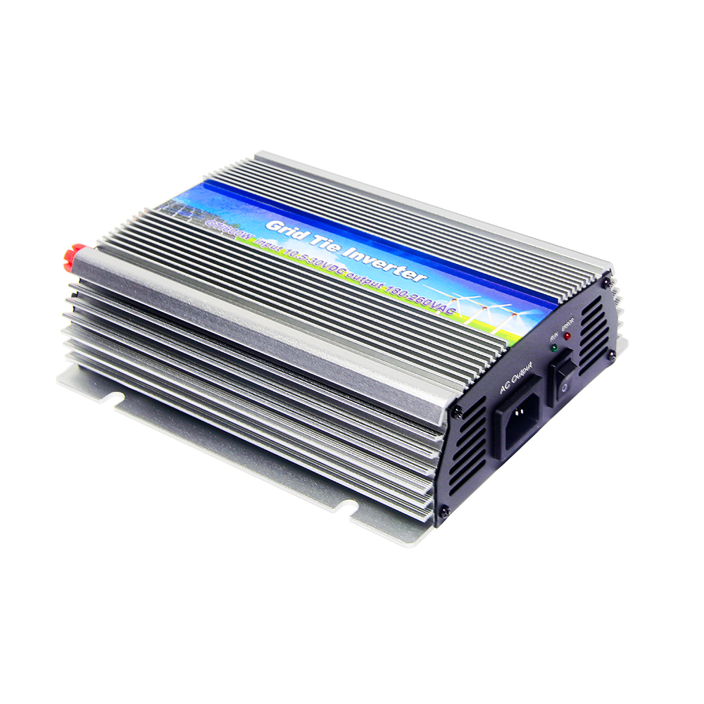 MAYLAR@ 10.5-30Vdc 500W Pure Sine Wave Solar Grid Tie Inverter Output 180-260Vac Power Inverter For Home 18V PV Module System maylar 22 60v 300w solar high frequency pure sine wave grid tie inverter output 90 160v 50hz 60hz for alternative energy