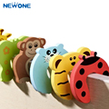Wholesale 10 PCS/set Door security door card Carmen file children cartoon baby door stopper door clamp pinch hand security card