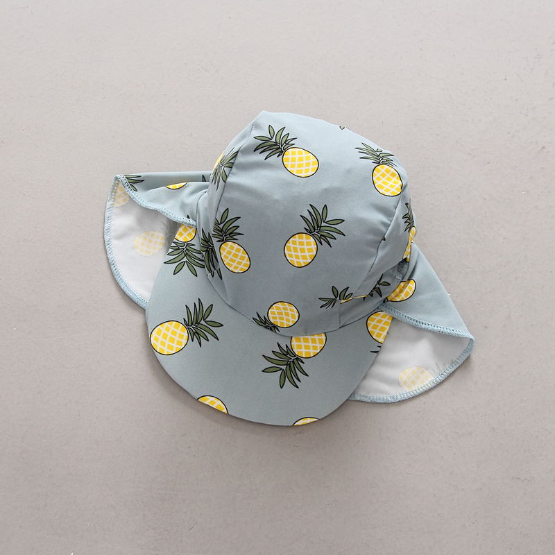 Mother & Kids Generous Bucket Cap Baby Unisex Cotton Banana Hat Bob Caps Hip Hop Outdoor Sports Summer Mother And Girl Beach Sun Fishing Bucket Hats Beautiful In Colour