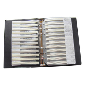 Image 2 - Il Trasporto Libero 1206 SMD Condensatore Campione Libro 80valuesX25pcs = 2000 pz 0.5PF ~ 1 uf Condensatore Assortimento Kit Confezione