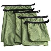5 шт./компл. Открытый водонепроницаемый плавательный мешок кемпинг для хранения при сплаве сухой мешок с регулируемым крючок для ремней