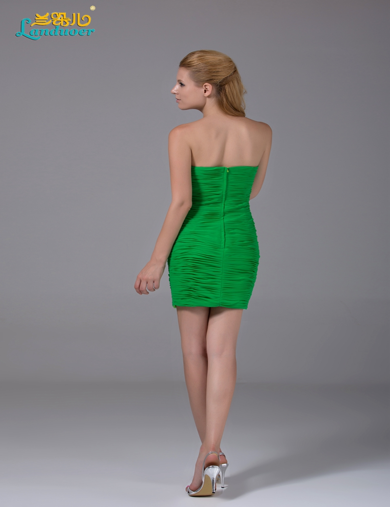 Sexy strapless green chiffon bridesmaid dresses under 100 cheap sexy strapless green chiffon bridesmaid dresses under 100 cheap short party gowns sheath open back 2017 in bridesmaid dresses from weddings events on ombrellifo Image collections