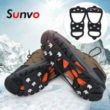 Sunvo противоскользящие шипы для зимних походов альпинизма охоты