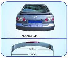 Высокое Качество Неокрашенный Грунтовка Фабрика Стиль СВЕТОДИОДНЫЕ ABS Спойлер Крыло Для Mazda M6 2003-2008