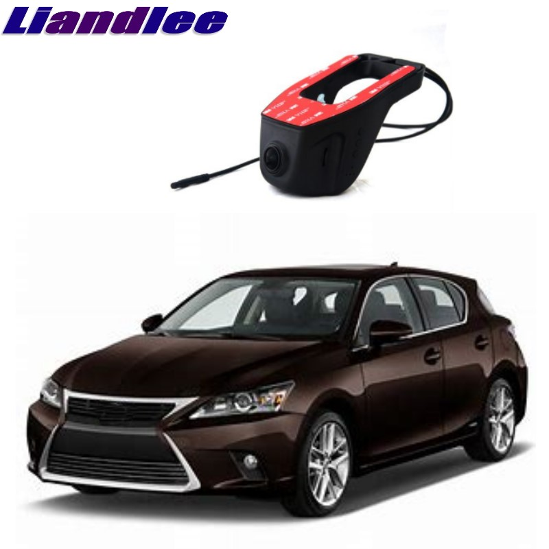 Liandlee pour Lexus Compact CT A10 2011 ~ 2018 enregistrement de route de voiture WiFi DVR caméra de tableau de bord enregistreur vidéo de conduite