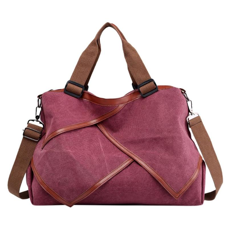 Large Capacity Irregular Handbags Canvas Bag Women Fashion Stitching Shoulder Female Messager Bags Big Wash Cloth For WomenLarge Capacity Irregular Handbags Canvas Bag Women Fashion Stitching Shoulder Female Messager Bags Big Wash Cloth For Women