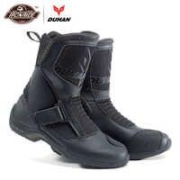 DUHAN Motorrad Stiefel Motorrad Road Racing Motorrad Schuhe Bota Motociclista Moto Motocross Reiten Stiefel für Männer