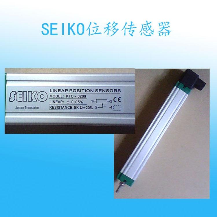KTC-0200 displacement sensor SEIKO injection molding electromechanical resistance ruler  LINEAP POSITION SENSORSKTC-0200 displacement sensor SEIKO injection molding electromechanical resistance ruler  LINEAP POSITION SENSORS