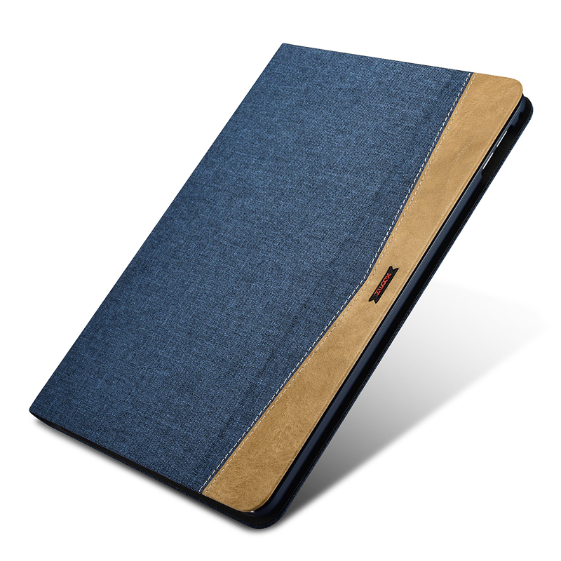Durable Fabric Leather Case For iPad Air 2 Fashion Ultra Thin Protection Flip Wake Sleep Smart Case Cover For iPad Air 2 Shell leather case flip cover for letv leeco le 2 le 2 pro black