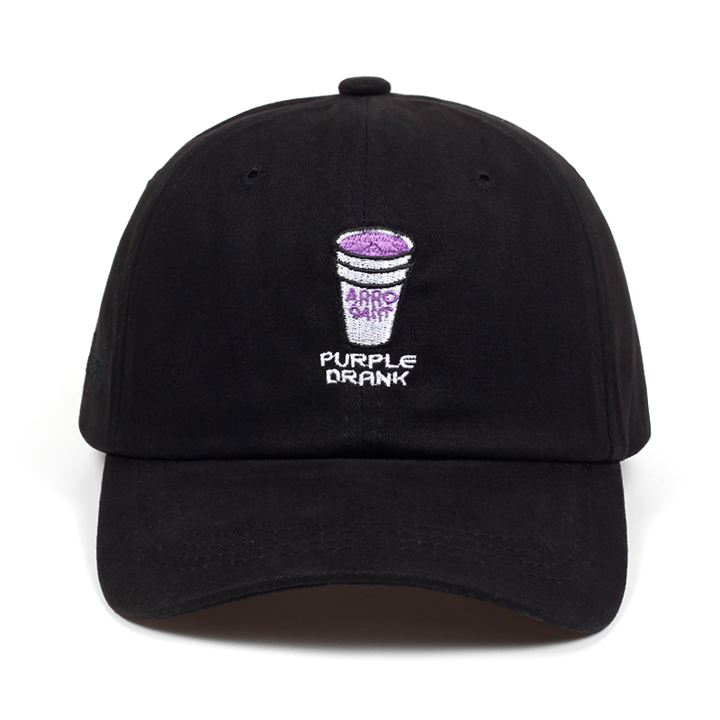new Brand Drinking cup embroidery Snapback   Cap   Cotton   Baseball     Cap   For Adult Men Women Hip Hop Dad Hat Bone Gorras