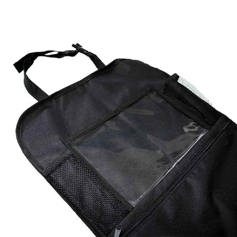 2 adet araba koltuğu arka düzenleyicisi 600D Çok Cep Oto Seyahat saklama çantası Tablet Tutucu ile
