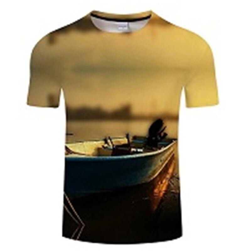 Новая футболка для рыбалки, стильная повседневная футболка с цифровым 3D принтом рыбы, мужская и женская футболка, летняя футболка с коротким рукавом и круглым вырезом, Топы И Футболки S-6XL - Цвет: TXKH438