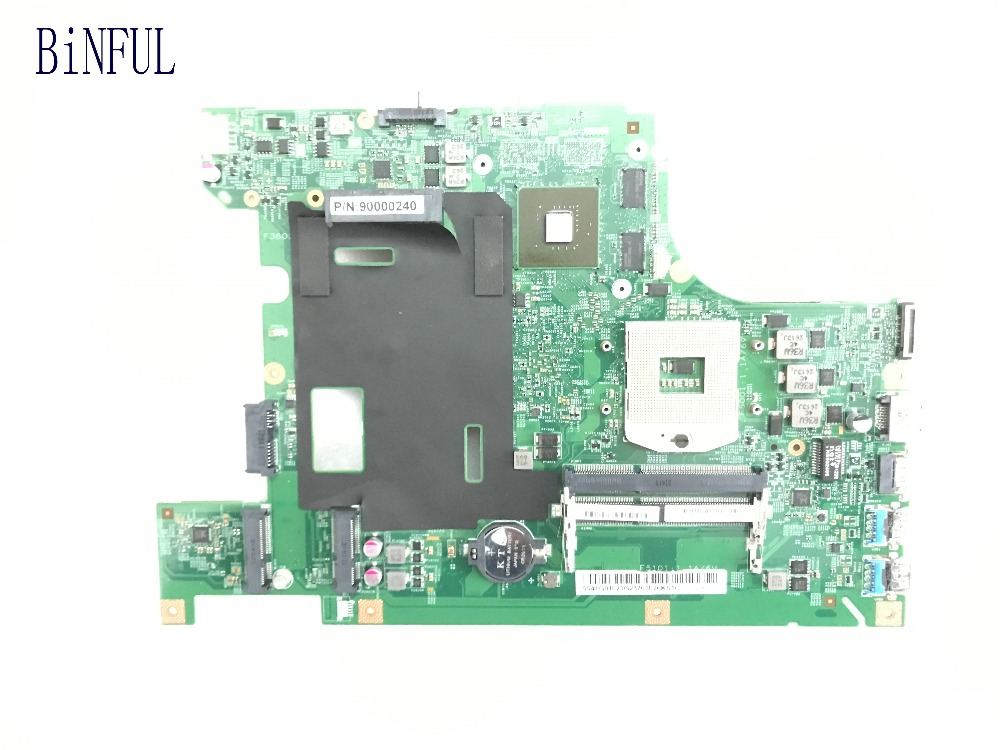 BiNFUL BEST SELLING IN UKRAINE TESTED 48 4TE01 011 MOTHERBOARD FOR LENOVO V580 NOTEBOOK PC VIDEO