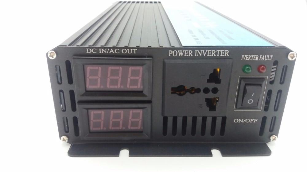 DHL FedEx UPS Free shipping Pure Sine Wave power inverter 2000w Peak 4000W DC 12V to AC 220V power converter