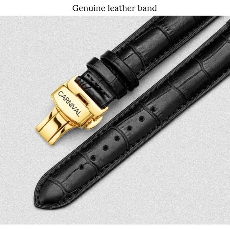 Corgeut de marca de lujo, relojes de pulsera mecánicos automáticos para hombre, de cuero, para nadar, para Deporte Militar - 4