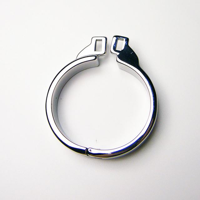 Novo Anel de Castidade de Aço Inoxidável Anel Peniano Para O Artesanato de Metal Masculino Chastity Chastity Dispositivo Fetiche