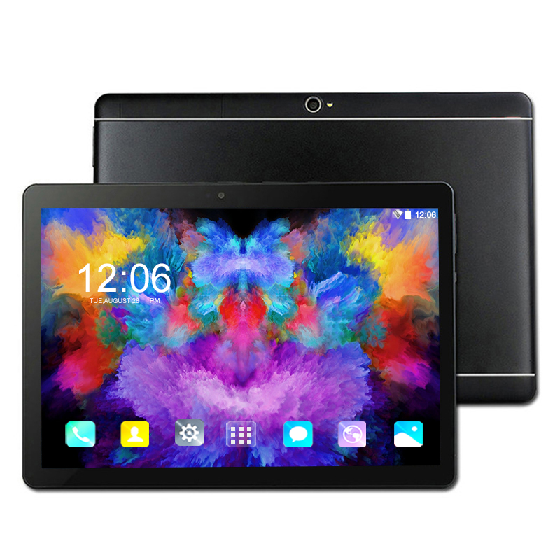 2019 nouveau 1280*800 IPS 10.1 pouces tablette PC 3G/4G Android 8.0 Octa Core Google Play tablettes 6 GB RAM 64 GB ROM WiFi GPS 10 'tablette