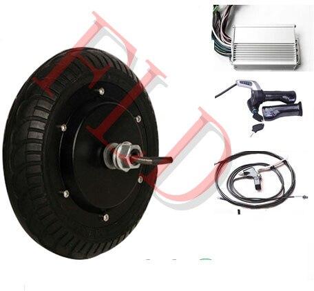 Kit électrique de planche à roulettes de longboard de moteur de moyeu de roue électrique de 8