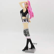 Anime One Piece Jewelry Bonney PVC Action Figure Collectible Model Toy 45cm