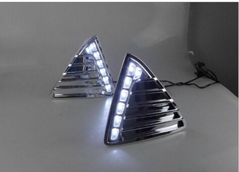 2шт/много автомобилей из светодиодов Для Форд Фокус 2012-2014 светодиодный свет бар горячие с хорошим Качество 12V DRL светодиодные фары дневного света freeshipping.