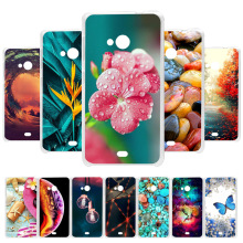 3D DIY Soft Silicone Case For Nokia 535 Case Coque For Microsoft Nokia Lumia 535 N535 Case Painted Capa Back Bag Fundas Housing protective plastic back case for nokia lumia 920 white