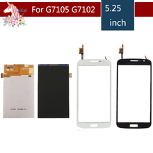 5.25 For Samsung Galaxy Grand 2 Duos G7105 G7106 G7108 G7102 LCD Display With Touch Screen Digitizer Sensor Replacement g garibaldi duos gradues pour 2 flutes op 145