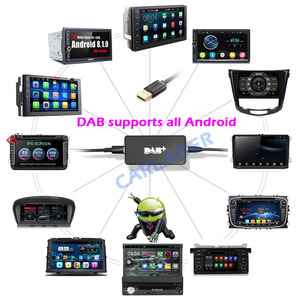 Image 3 - Universal Car DAB Plus Radio Receiver Tuner USB interface for car Android multimedia player system Digital Audio Broadcasting