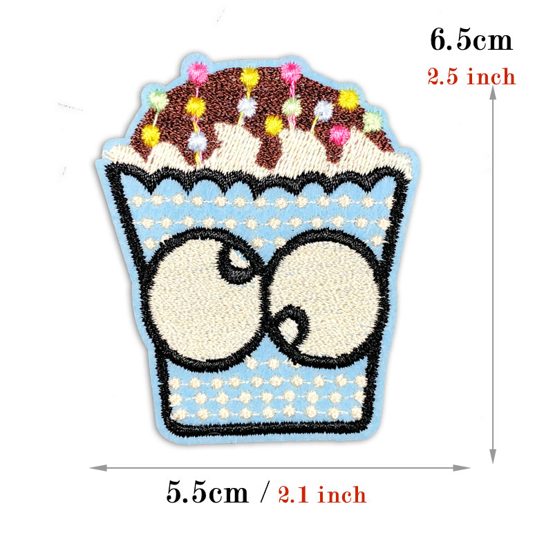 4pcs set Embroidered Patch Clothes Stickers Cartoon Iron on Patches for Clothing Children DIY Patchwork Kid Applique Badges in Patches from Home Garden