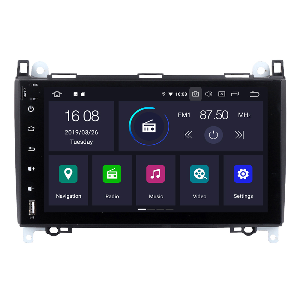 RoverOne For <font><b>Mercedes</b></font> W245 B55 B140 B160 B170 <font><b>B180</b></font> B200 Android 9.0 Autoradio Car Multimedia Player <font><b>GPS</b></font> Navigation NO DVD image