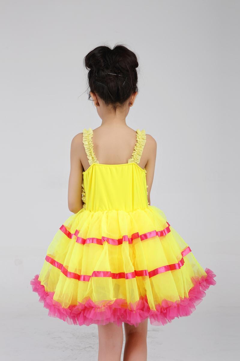 Žuti balet Profesionalni tutu Giselle Baletni kostimi Dame Klasični - Karnevalske kostime - Foto 3