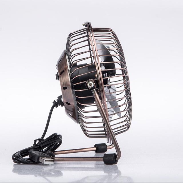 Vintage Metal USB Desktop Fan