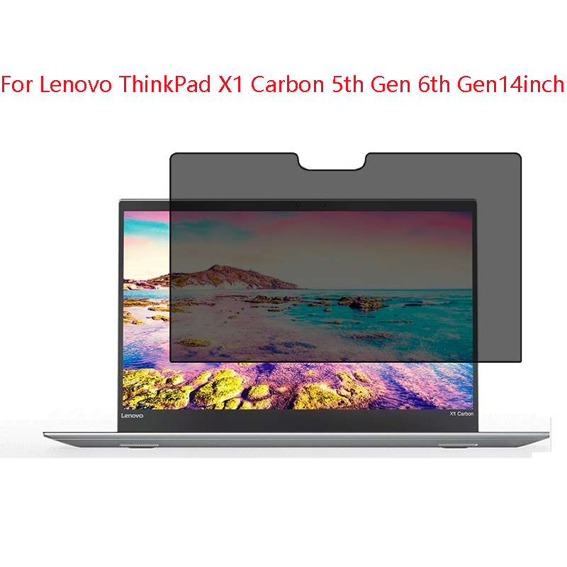 For Lenovo ThinkPad X1Carbon 5th Gen 6th Gen 14inch Privacy Screen Protector Privacy Anti-Blu-ray Effective Protection Of Vision