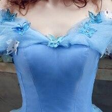 Blue Cinderella Dress Ball Gowns