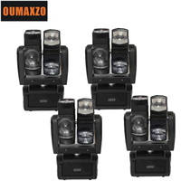 90W Led Beam Moving Head Light Spider Scanner Double Rotate Tilt Arm Cheap Price Random Running LED 8 eyes unlimited rotated