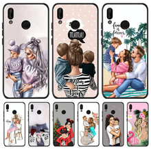 Luxury Baby Mom Queen For Huawei P8 P10 P20 P30 Mate 10 20 V20 Honor 8 8X 8C 9 1