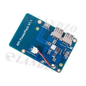 Image 3 - Lityum pil paketi genişletme kartı güç kaynağı ahududu Pi 3,2 Model B için anahtarı, 1 Model B + muz Pi