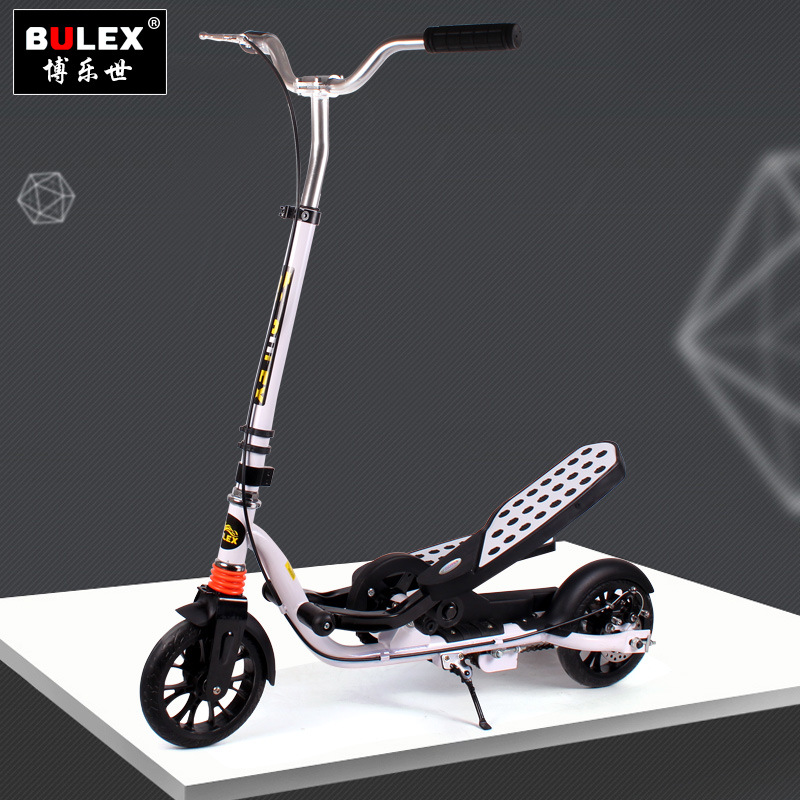 Pedais duplos Scooter Exercício Enquanto Se Diverte
