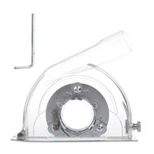 """BENGU Cutting Dust Shroud Grinding Cover For Angle Grinder & 3""""/4""""/5"""" Saw Blades Clear"""