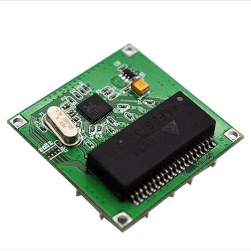 Image 2 - Mini PBCswitch module PBC OEM module mini size 4 Ports Network Switches Pcb Board mini ethernet switch module 10/100Mbps OEM/ODM-in Network Switches from Computer & Office