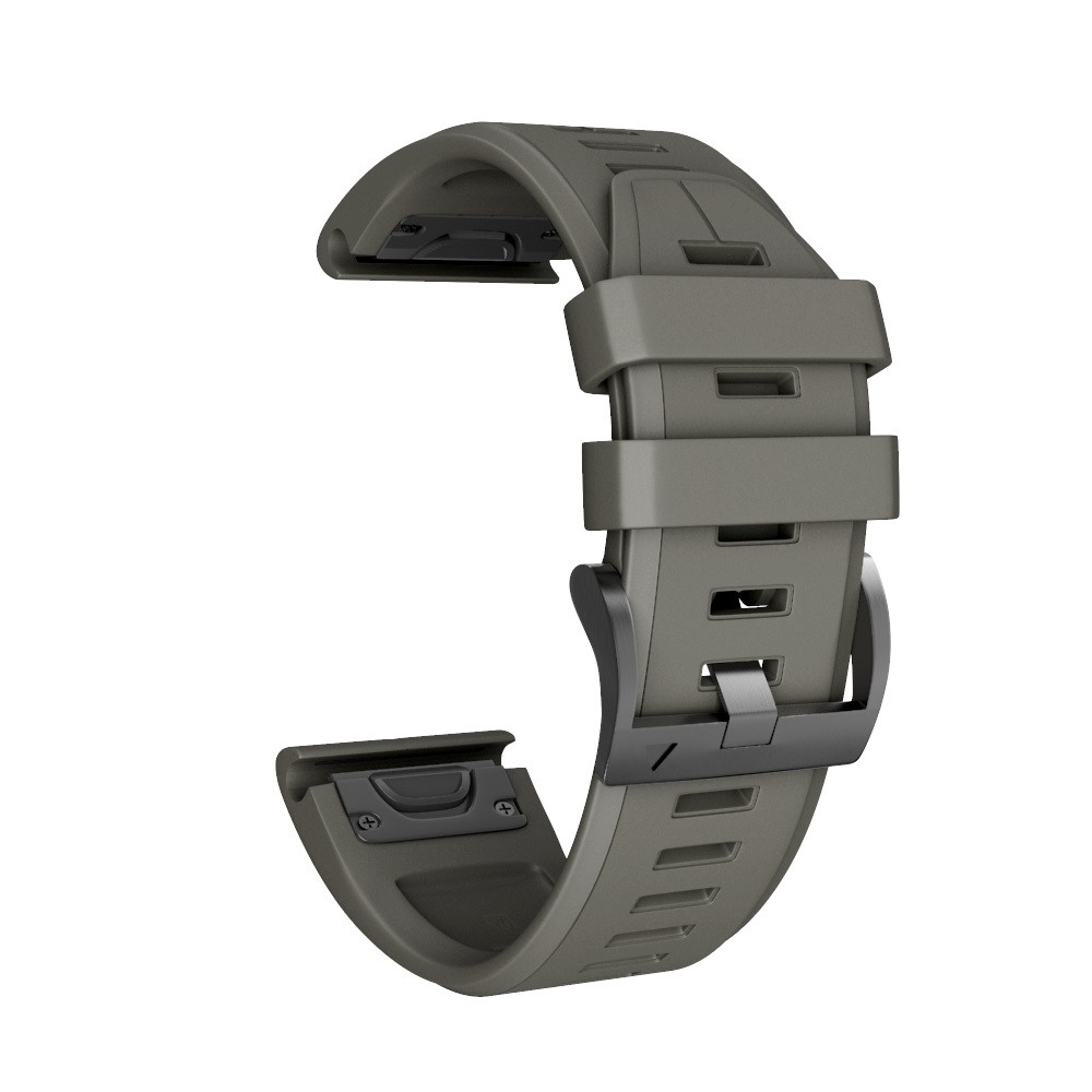 Watch Strap For Garmin Fenix 5X Plus Silicone Quick Release Replacement For Garmin Fenix 5X Plus Wirst Band usb charger dock charging cradle for samsung gear fit2 pro sm r360 smart watch cable cord charge base station for fit 2 sm r360