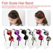 Unique Lovely Sequin Hair Bands Headband Hair Accessories Hair Hoop For Girls Kids Gift Party Festival цены онлайн