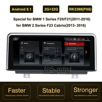 10.25 inch IPS Screen Android 8.1 Car GPS Navigation for BMW 1 Series F20/F21(2011 2016)/for BMW 2 Series F23 Cabrio(2013 2016)