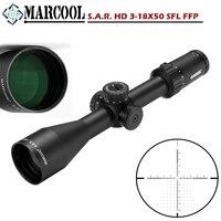 MARCOOL S.A.R. HD 3 18X50 SFL FFP Riflescope Охота Тактический оптический коллиматор цель прицел Сетка для страйкбола винтовка