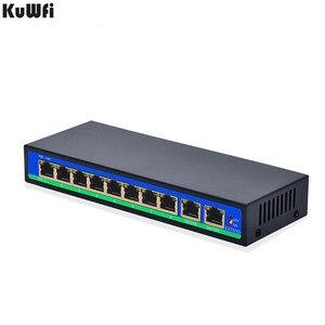 Image 4 - 8 + 2 ポート 250 メートル拡張電源アダプタタイプ管理ネットワークスイッチ poe 電源到達 30 ワット 1.6 グラム容量フォワードと店