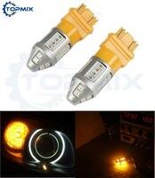 2Pcs Lot High Power T25 3157 2835 SMD 30 LED Car Turn Singal Brake Tail Backup