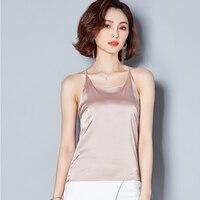 J61276 Basic V Neck Tops sleeveless shirt female 2018 Summer Fashion Comfort Tops Women Basic Shirt