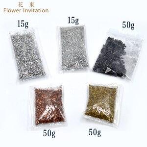 Image 2 - Convite da flor de bronze _ cobre _ ferro limalhas diy mão sucata geometria ornonite energia torre material pacote pirâmide